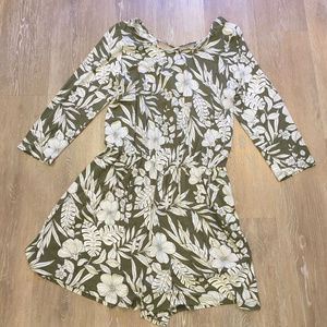 [3 for $20] Everly Tropical Jersey Knit Romper